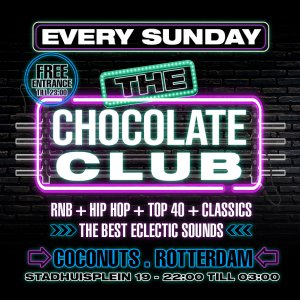The Chocolate Club | Every Sunday